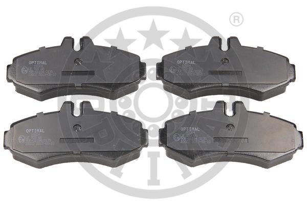 Kit de plaquettes de frein, frein à disque - OPTIMAL - 10324