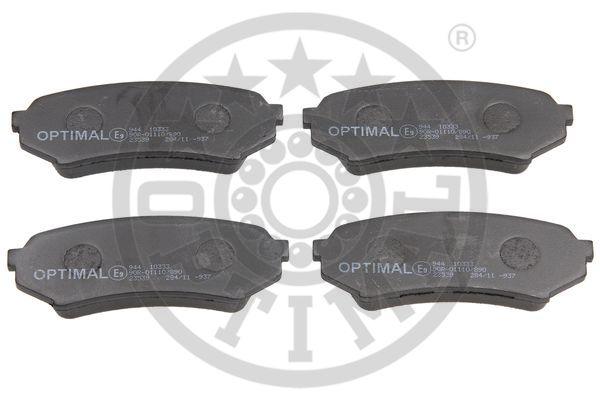 Kit de plaquettes de frein, frein à disque - OPTIMAL - 10333