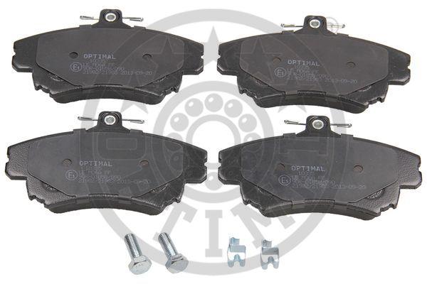Kit de plaquettes de frein, frein à disque - OPTIMAL - 10335