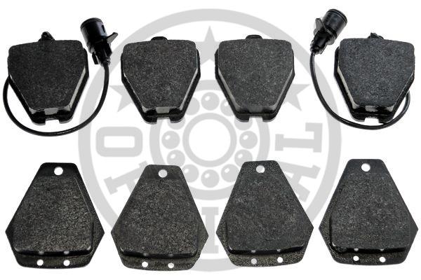Kit de plaquettes de frein, frein à disque - OPTIMAL - 10339
