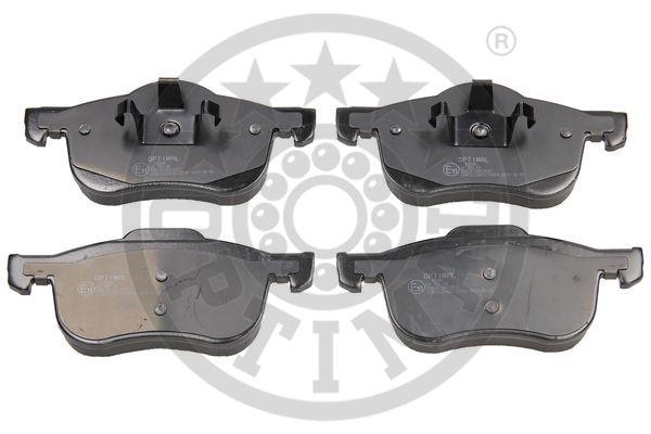 Kit de plaquettes de frein, frein à disque - OPTIMAL - 10348