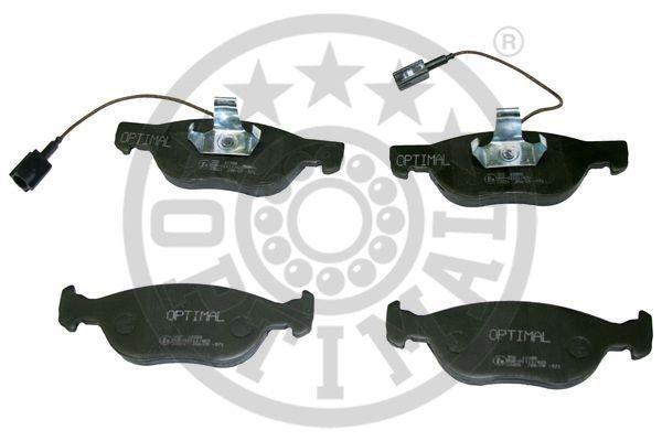 Kit de plaquettes de frein, frein à disque - OPTIMAL - 10385