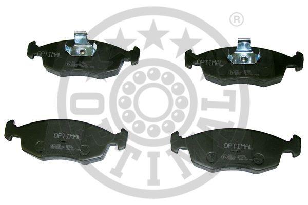 Kit de plaquettes de frein, frein à disque - OPTIMAL - 10386