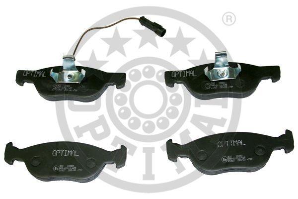 Kit de plaquettes de frein, frein à disque - OPTIMAL - 10393