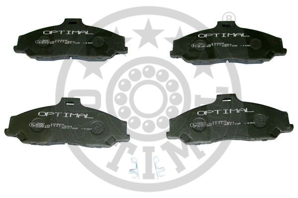 Kit de plaquettes de frein, frein à disque - OPTIMAL - 10396
