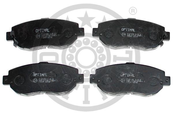 Kit de plaquettes de frein, frein à disque - OPTIMAL - 10399