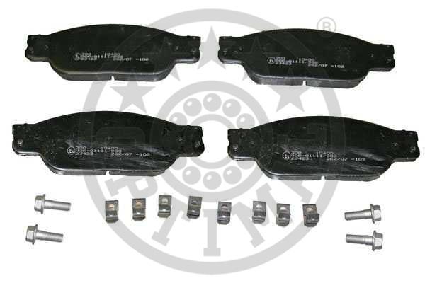 Kit de plaquettes de frein, frein à disque - OPTIMAL - 10400