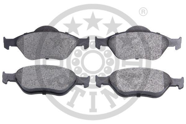 Kit de plaquettes de frein, frein à disque - OPTIMAL - 10462