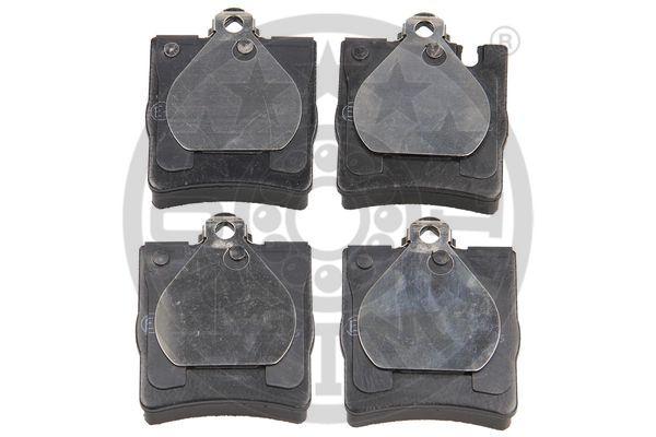 Kit de plaquettes de frein, frein à disque - OPTIMAL - 10468