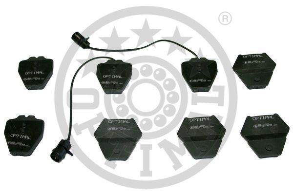 Kit de plaquettes de frein, frein à disque - OPTIMAL - 10483