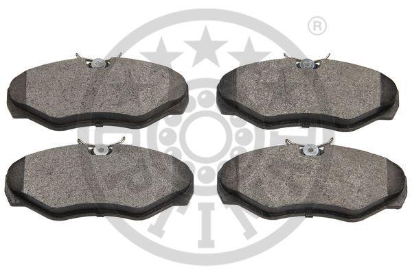 Kit de plaquettes de frein, frein à disque - OPTIMAL - 12014
