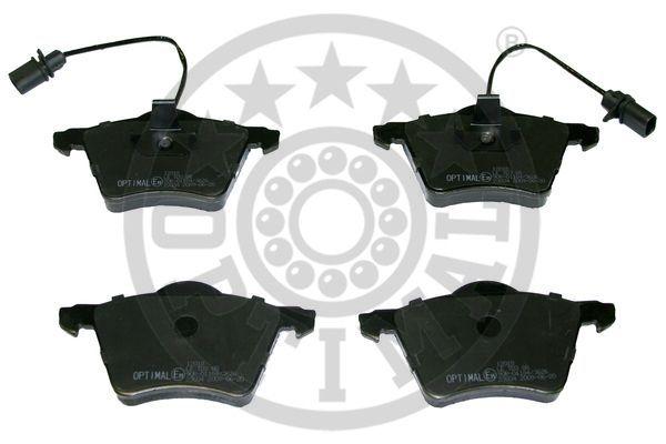 Kit de plaquettes de frein, frein à disque - OPTIMAL - 12018