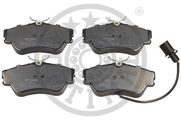 Kit de plaquettes de frein, frein à disque - OPTIMAL - 12023