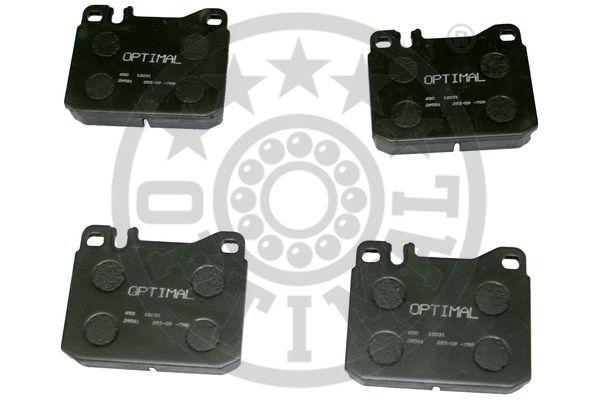 Kit de plaquettes de frein, frein à disque - OPTIMAL - 12031