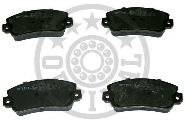 Kit de plaquettes de frein, frein à disque - OPTIMAL - 12043