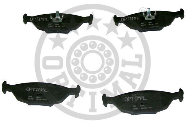 Kit de plaquettes de frein, frein à disque - OPTIMAL - 12051