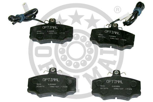 Kit de plaquettes de frein, frein à disque - OPTIMAL - 12055