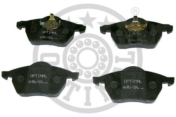 Kit de plaquettes de frein, frein à disque - OPTIMAL - 12074