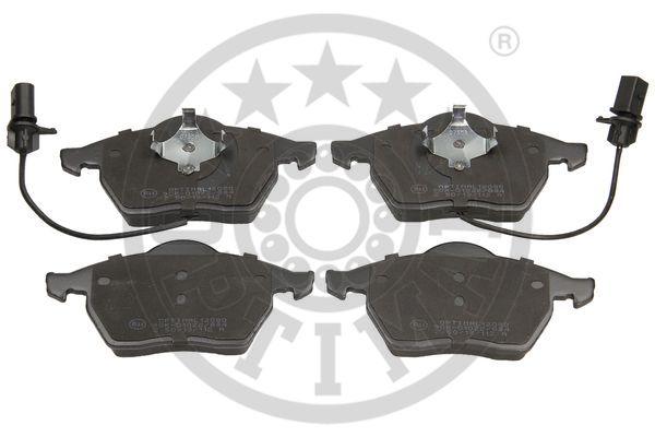 Kit de plaquettes de frein, frein à disque - OPTIMAL - 12080