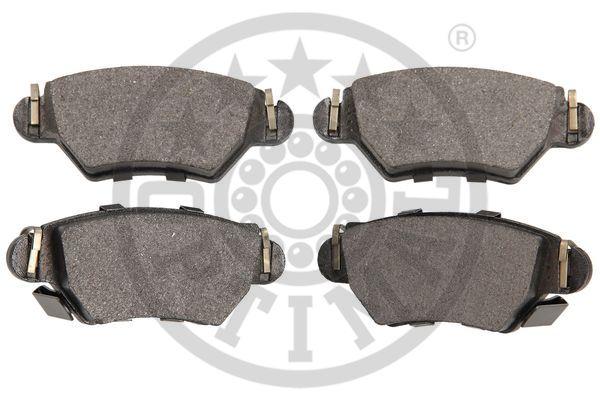 Kit de plaquettes de frein, frein à disque - OPTIMAL - 12081