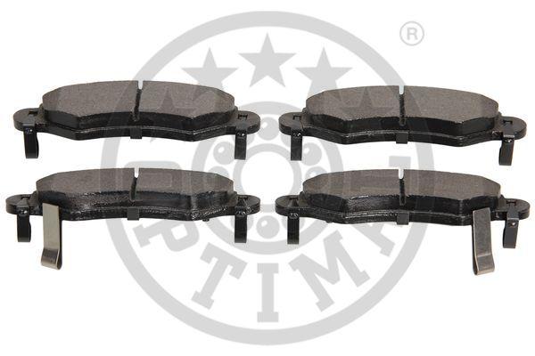 Kit de plaquettes de frein, frein à disque - OPTIMAL - 12082