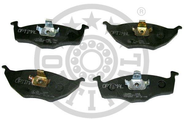 Kit de plaquettes de frein, frein à disque - OPTIMAL - 12085
