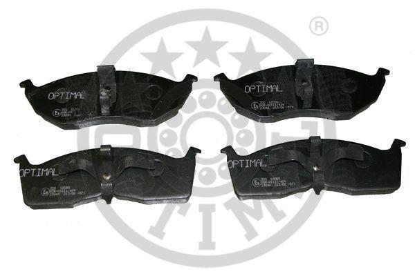 Kit de plaquettes de frein, frein à disque - OPTIMAL - 12088