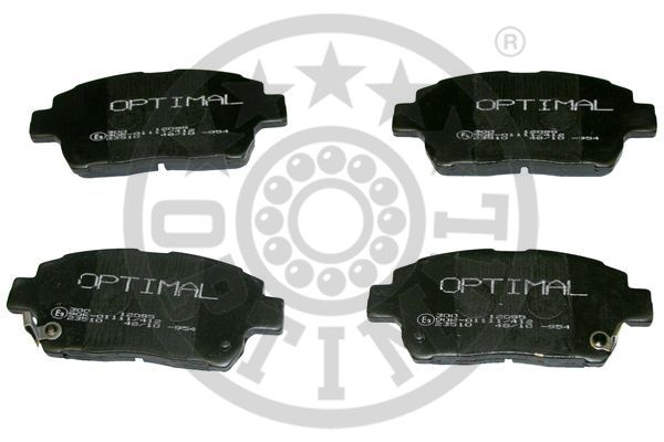 Kit de plaquettes de frein, frein à disque - OPTIMAL - 12095