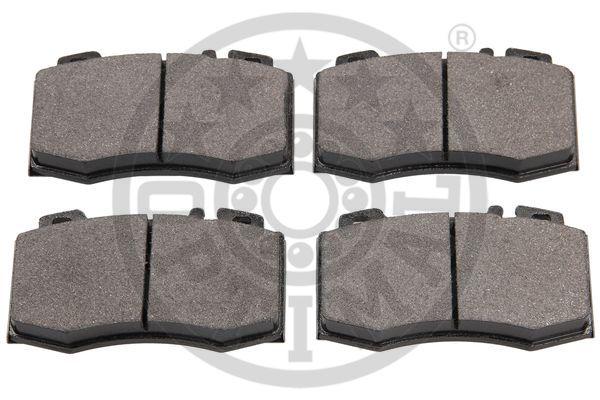 Kit de plaquettes de frein, frein à disque - OPTIMAL - 12097