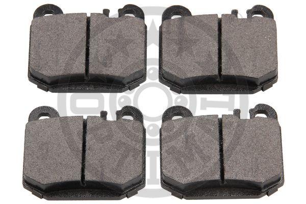Kit de plaquettes de frein, frein à disque - OPTIMAL - 12099