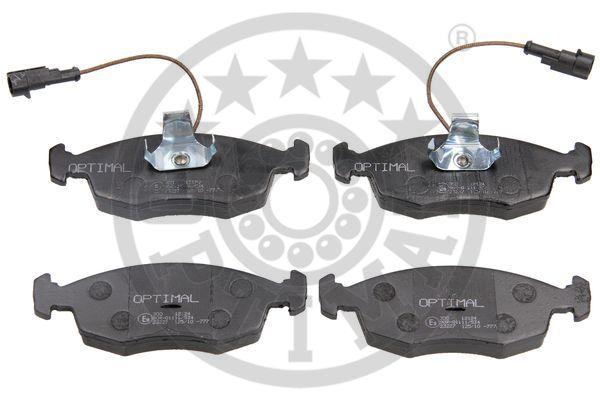 Kit de plaquettes de frein, frein à disque - OPTIMAL - 12124