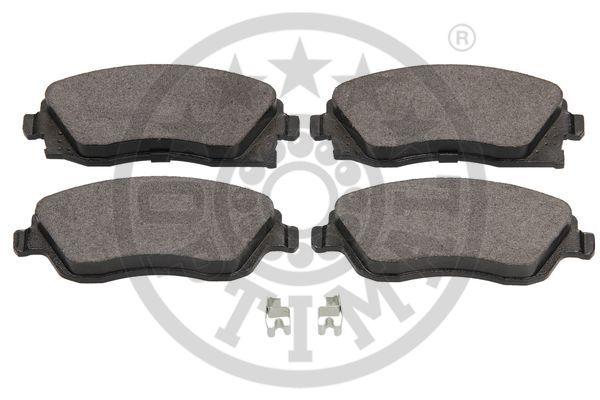 Kit de plaquettes de frein, frein à disque - OPTIMAL - 12126