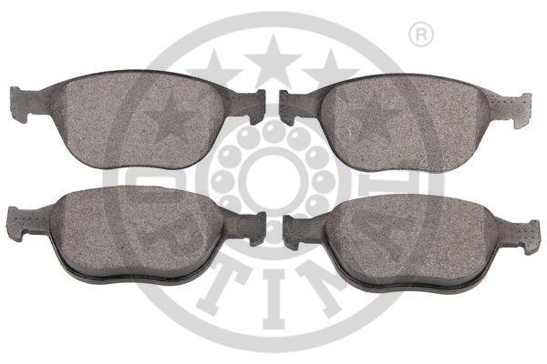 Kit de plaquettes de frein, frein à disque - OPTIMAL - 12133