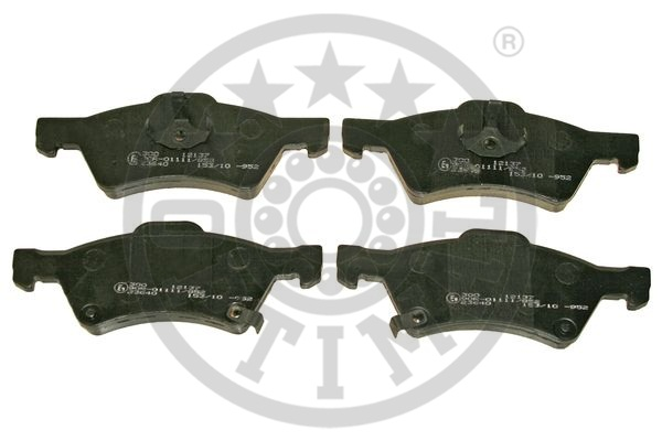 Kit de plaquettes de frein, frein à disque - OPTIMAL - 12137