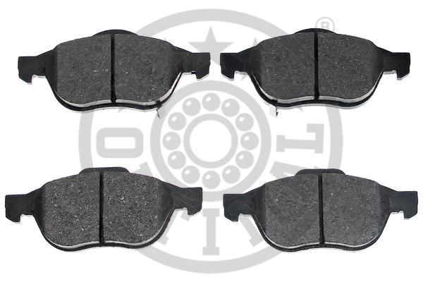 Kit de plaquettes de frein, frein à disque - OPTIMAL - 12147