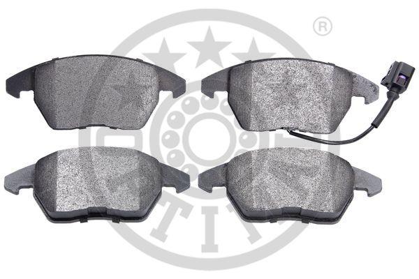 Kit de plaquettes de frein, frein à disque - OPTIMAL - 12155