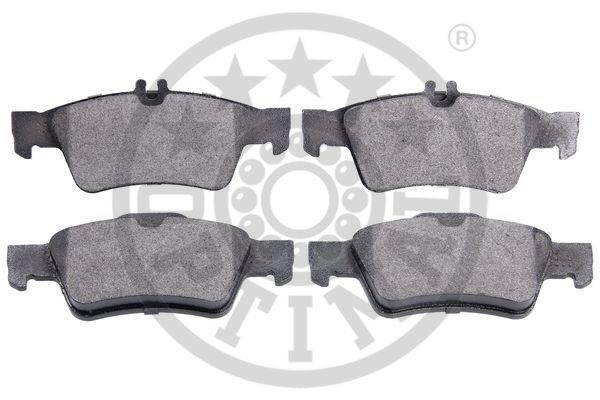 Kit de plaquettes de frein, frein à disque - OPTIMAL - 12162