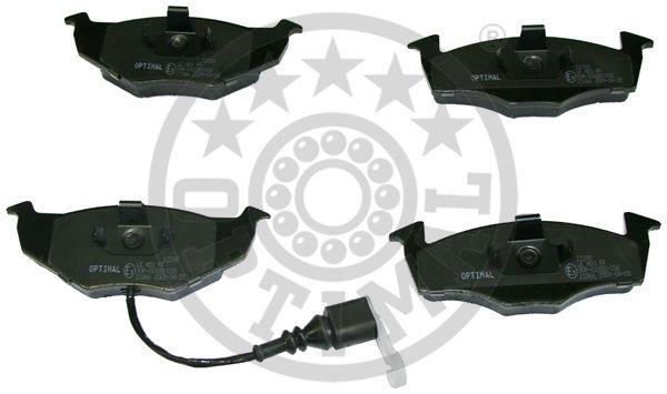 Kit de plaquettes de frein, frein à disque - OPTIMAL - 12172