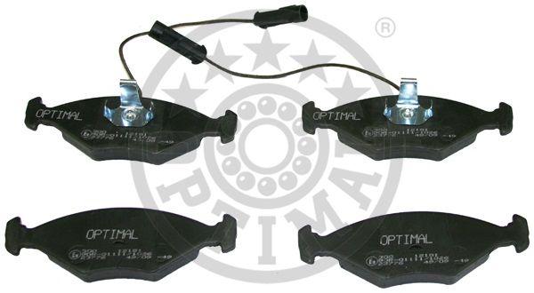 Kit de plaquettes de frein, frein à disque - OPTIMAL - 12181
