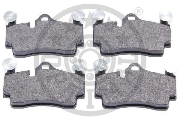 Kit de plaquettes de frein, frein à disque - OPTIMAL - 12186
