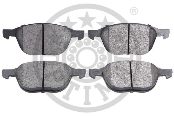 Kit de plaquettes de frein, frein à disque - OPTIMAL - 12192