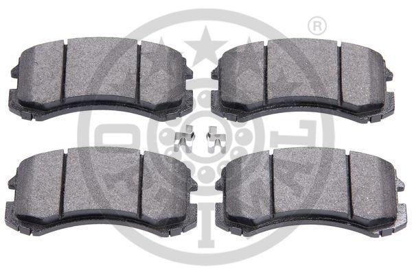 Kit de plaquettes de frein, frein à disque - OPTIMAL - 12193