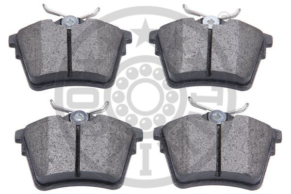 Kit de plaquettes de frein, frein à disque - OPTIMAL - 12215