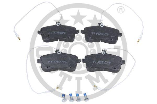 Kit de plaquettes de frein, frein à disque - OPTIMAL - 12223