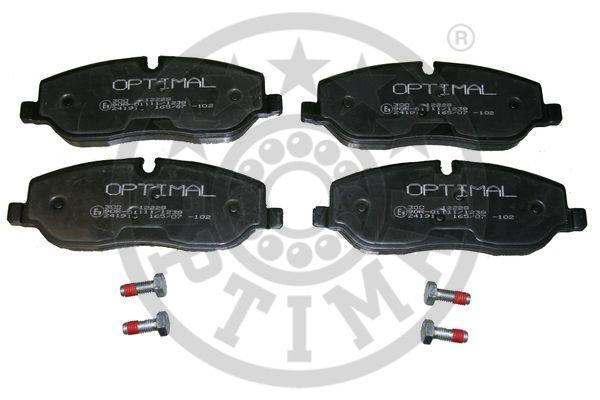 Kit de plaquettes de frein, frein à disque - OPTIMAL - 12229