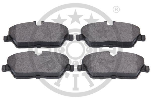 Kit de plaquettes de frein, frein à disque - OPTIMAL - 12232
