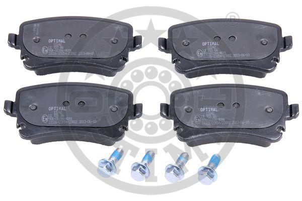 Kit de plaquettes de frein, frein à disque - OPTIMAL - 12242
