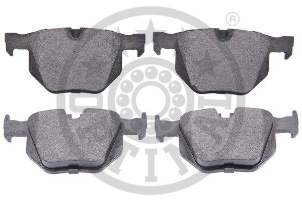 Kit de plaquettes de frein, frein à disque - OPTIMAL - 12251