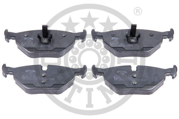 Kit de plaquettes de frein, frein à disque - OPTIMAL - 12259
