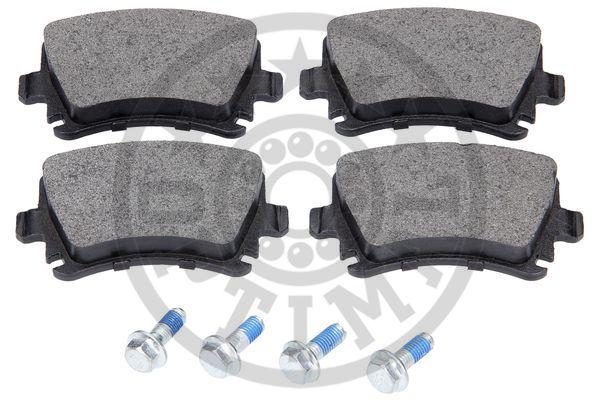 Kit de plaquettes de frein, frein à disque - OPTIMAL - 12263